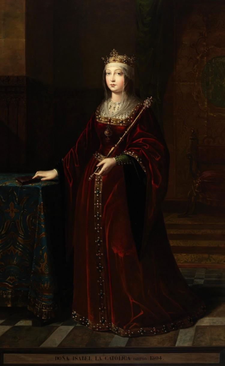 Pośmiertny portret Izabeli pędzla Luisa Madrazo
