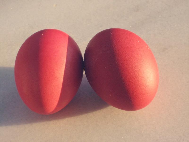 Czerwone greckie pisanki, fot. ccarlstead / Flickr