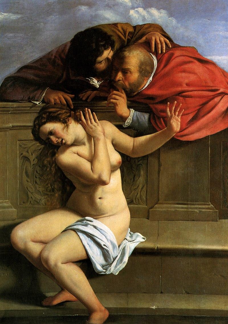 Zuzanna istarcy (1610)