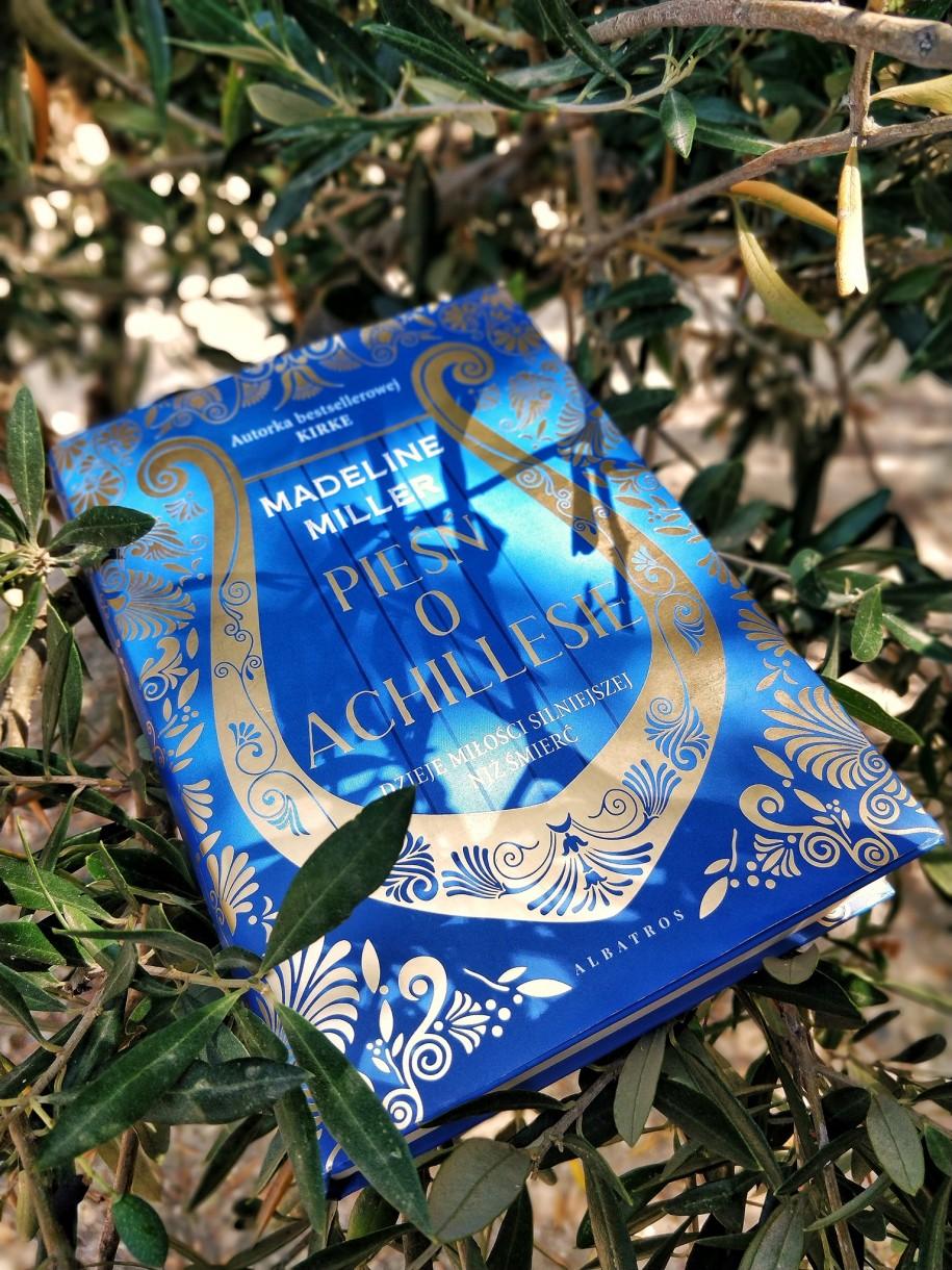 Pieśń oAchillesie wśród liści długowiecznego drzewa oliwnego wVouves. Książka dostępna jest wnaszym sklepie pod tym linkiem