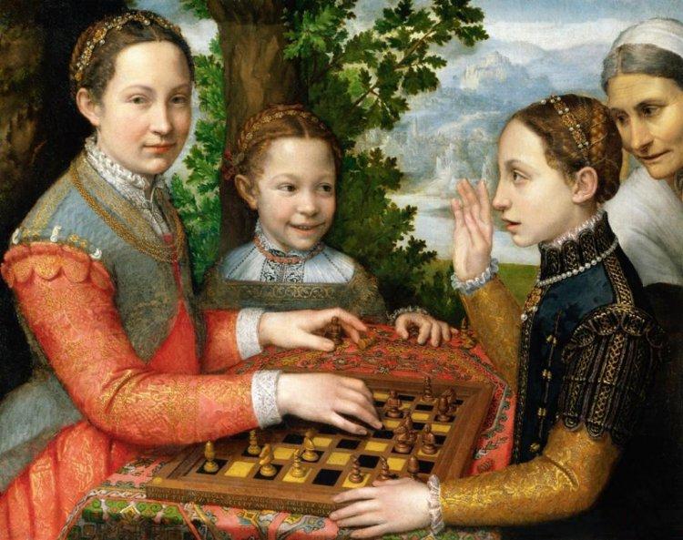 Gra wszachy (ok. 1555)