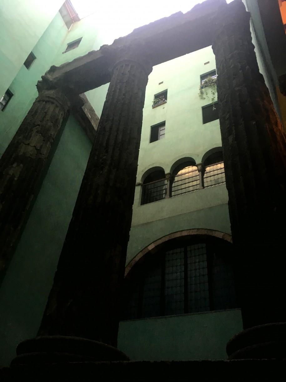 Barcelońska świątynia Augusta, fot. Julia Wollner
