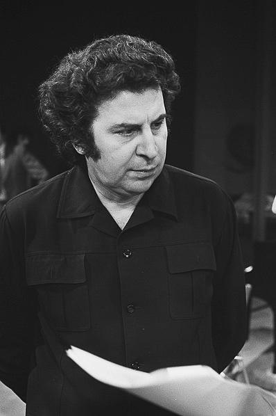 Mikis Theodorakis, fot. Bert Verhoeff / Anefo
