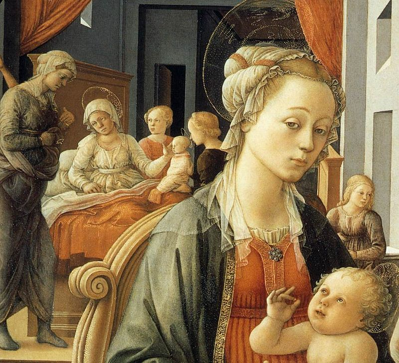 Filippo Lippi, Madonna zDzieciątkiem, 1452